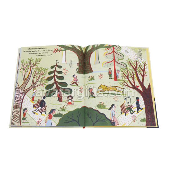 High Quality Printing Services Hard Cover/Soft Cover Book Printing
