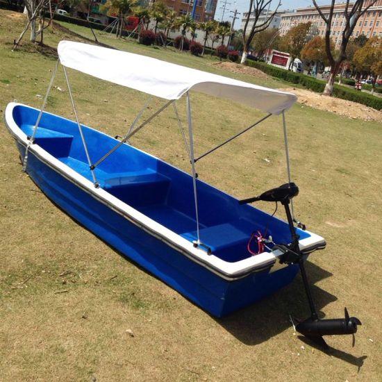 4.8m Fiberglass Small Outboard Jet Ski Boat