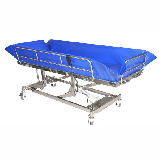 Sk005-10 Hospital Bathroom Metal Bath Bed Accessories with Water-Proof Motor