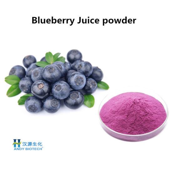 Anti-Oxidant Natural Blueberry Juice Purple Powder Plant Extract