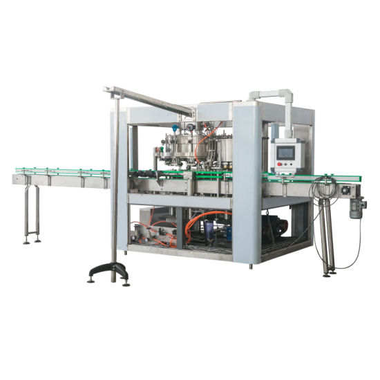 Automatic Small Water Juice Carbonated Soft Beverage Craft Beer Canning Machine with Ce and UL