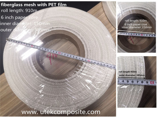 Fiberglass Scrim with Pet Film Service Entrance Tape for Cable and Wire