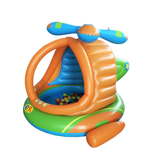 Inflatable Blow up Helicopter Ball Pit Pool Children Toy pictures & photos