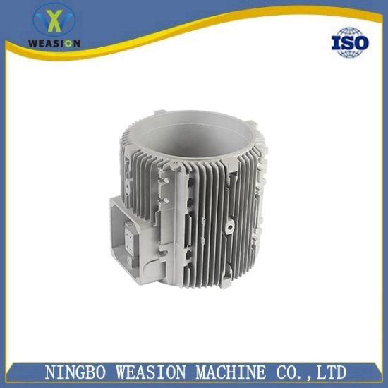 Cast Metal Part High Pressure Precision Die Casting Motor Housing