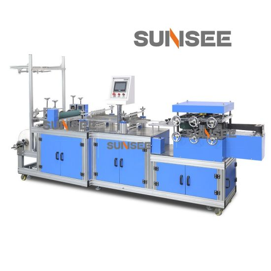 Fully Automatic Disposable Plastic and Non-Woven Shower Cap Macking Machine/Surgical Cap Making Machine