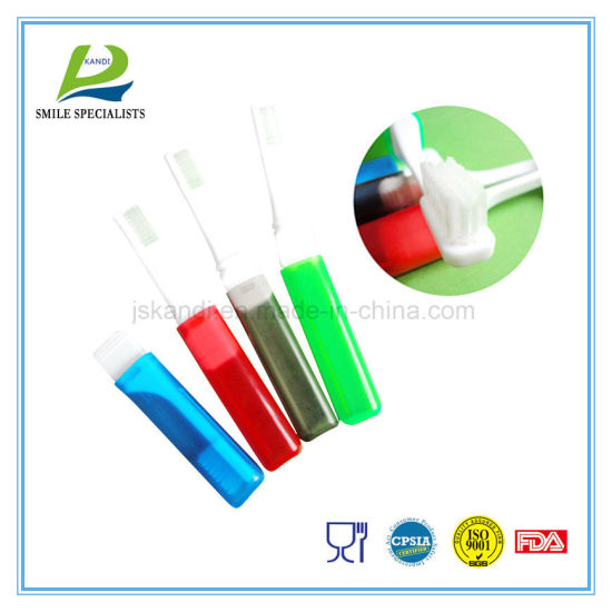 OEM Eco-Friendly Adult/Child/Kid Personal Care Travel Tooth Brush