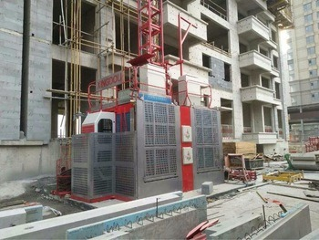 1 Ton Rack and Pinion Elevator