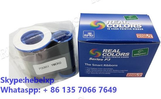 800015-440 Color Ribbon YMCKO for Zebra P310i P420i P520i Printer 200 Prints New
