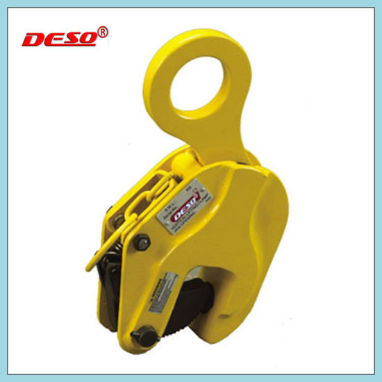 Steel Plate Drop Forged Vertical Lifting Clamp pictures & photos
