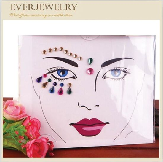 Wholesale Temporary Fancy Jewels Tattoo Stickers pictures & photos