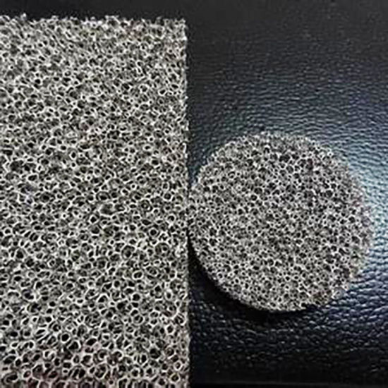 China Heat Sink, Heat Absorption, Chemical Catalyst Carrier Copper/Nickel  Foam - China Porous Metal, Water Treatment