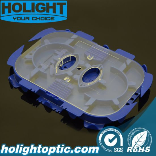 Blue Fiber Optic Splice Tray pictures & photos
