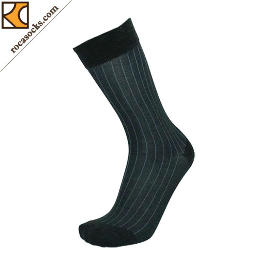 a7a1e466355a China Men′s Thin Mercerization Merino Wool Dress Socks (163006SK ...