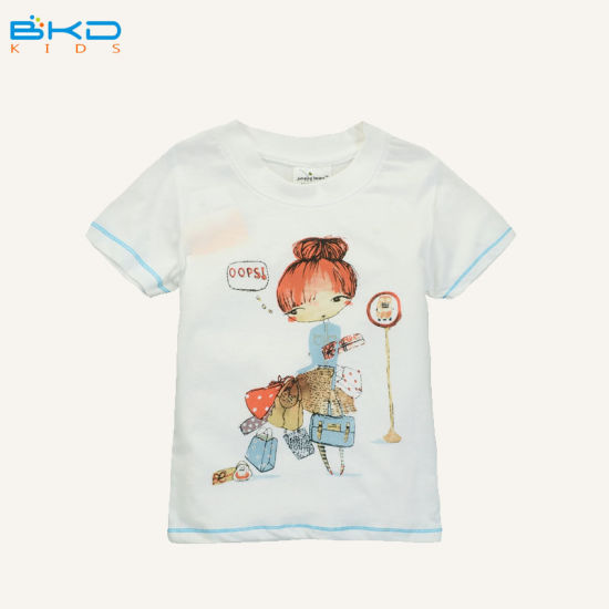 Water Printing Children Clothing Combed Cotton Baby Products