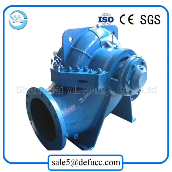 China Supplier Horizontal Double Suction Engine Farm Irrigation Pump pictures & photos