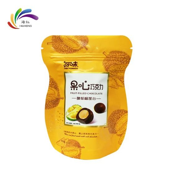 Custom Stand up Pouch Zipper Food Packaging Plastic Paper Bag