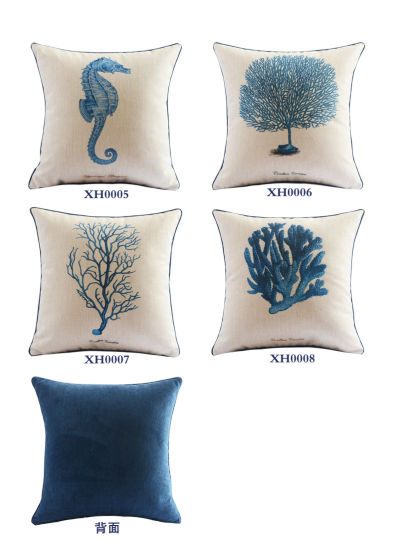 Low Price Cotton Linen Lumbar Throw Pillow for Teen Girls pictures & photos