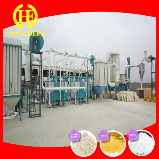 Africa Corn Mill Maize Flour Milling Machine pictures & photos
