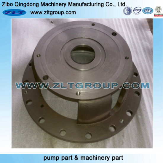 Machinery Sand Casting Centrifugal Submersible ANSI Process Chemical Pump Adapter in Ductile Iron