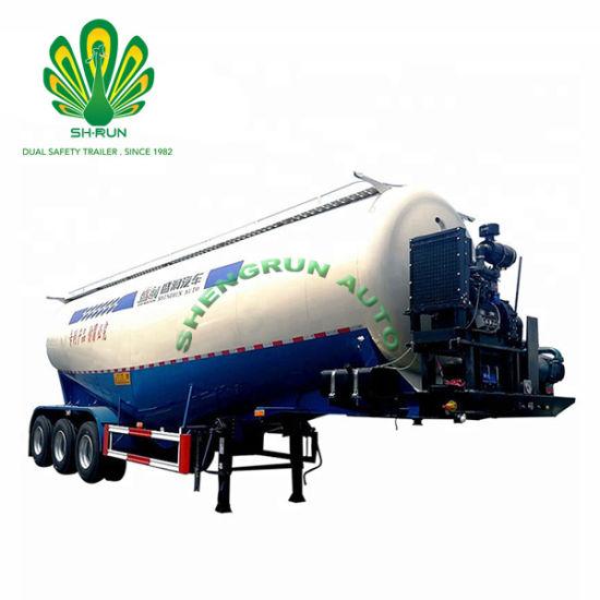 Powder Flour Metal Powder Truck Tank Semi Trailer/Powder Tanker