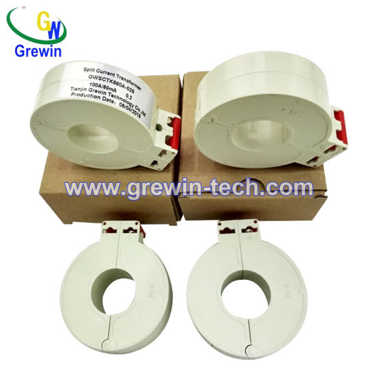 75A 250A Rated Input Small Size Split Core Current Transformers