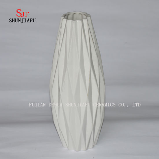 China Simple Origami Ceramic Vase Flower Arranging Living Room