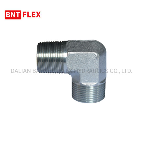 Reusable Hydraulic Straight Adapter High Pressure Rubber Hose Fittings for Low Price