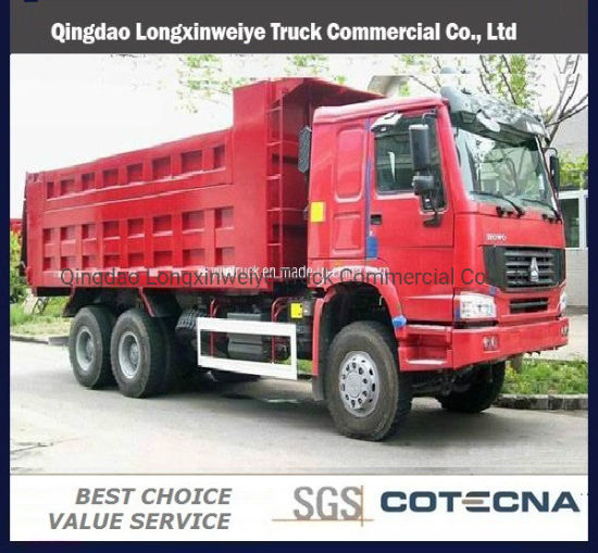 Used Sinotruk HOWO 6X4 Type 10-Wheel 336HP Dump Truck