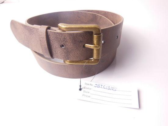 Men's PU Belt for Garment