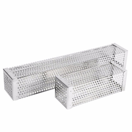 Perforated Stainless Steel Wire Mesh Filter Pipe