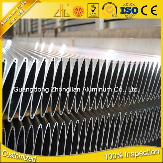 ISO 9001 Anodized Aluminum Extrusions Factory Custom Extruded Aluminium Louvre pictures & photos
