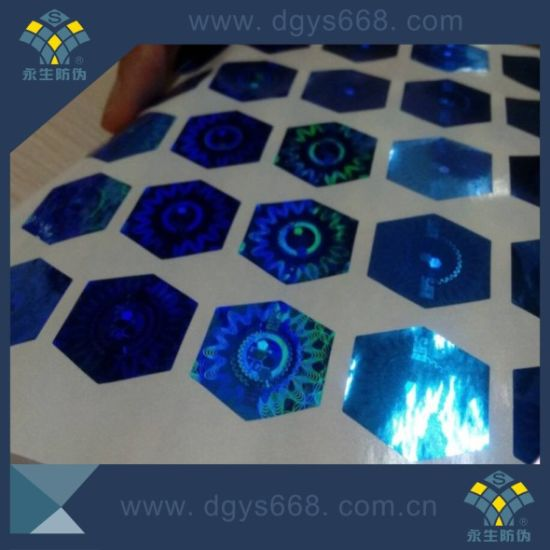 Barcode Number Warranty Laser Hologram Sticker pictures & photos