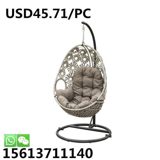 Marvelous Leisure Patio Wicker Outdoor Rattan Double Swing Garden Furniture Hanging Chair Alphanode Cool Chair Designs And Ideas Alphanodeonline