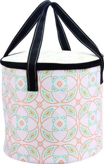 Rounded Circular Large Cooler Bag for Family Party pictures & photos