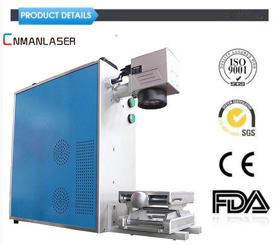 20W 30W 50W Metal/Watches/Camera/Auto Parts/Buckles Laser Marker Equipment /Engraver/Marking/Cutting Machine