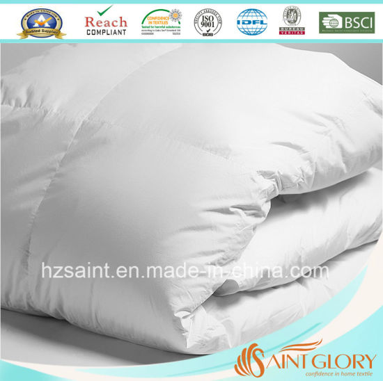 High Quality Down Quilt White Goose Feather and Down Duvet pictures & photos