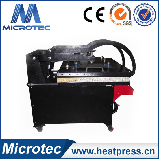 High Pressure Heat Press Machine with Auto Open and Slid out Function pictures & photos