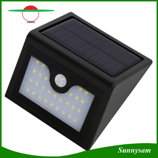 Outdoor Lighting Infrared Motion Sensor Solar Wall Lamp Waterproof Garden Patio Yard Mini Solar Powered Led Light