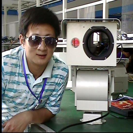 Long Range Multi Sensor PTZ Security Infrared Thermal Imaging Camera