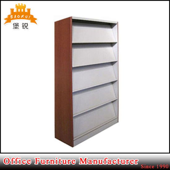 Metal Library Rack/Retail Magazine Display Shelvings  pictures & photos