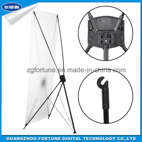 Low Price Custom Display X Stand for Outdoor and Indoor Advertising