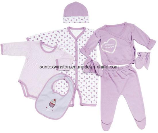 39dd5fbccabd9 Newborn Baby Gift Set 8PCS Set Baby Clothes-Infant Clothes pictures & photos