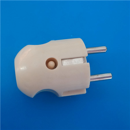Two Round Pin Bangladesh ABS Plug (RJ-0158)