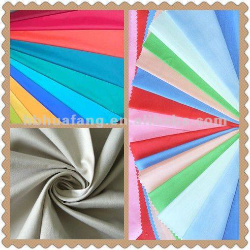 Fabric for Workwear/Home Textile/Upholstery China Wholesale Plain Polyester Cotton Fabric, Reactive Dyed pictures & photos