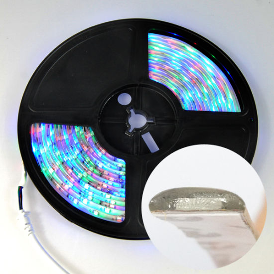 Flexible DC12V LED Strip White RGB Waterproof Christmas Lighting pictures & photos