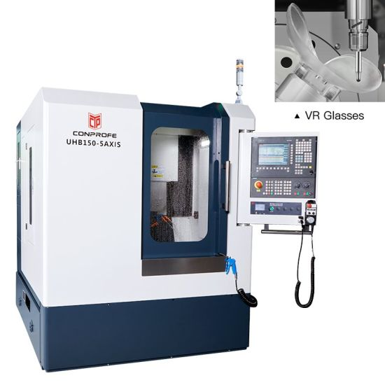 Small 3 Axis Drilling Milling Machine and Lathe Metal CNC Machine
