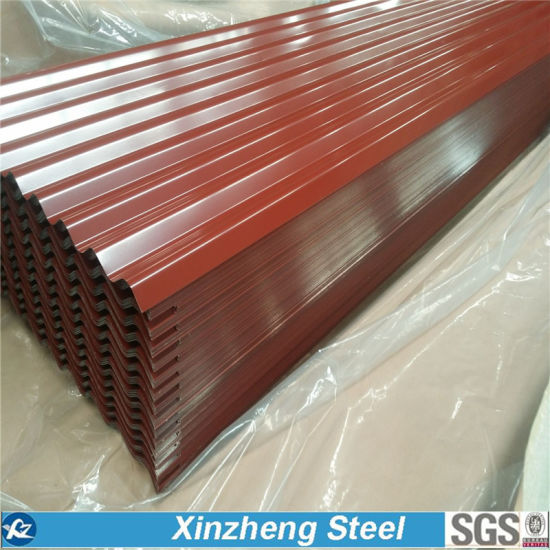 Prepainted Galvanized Roofing Sheet, PPGI Corrugated Steel Sheet pictures & photos