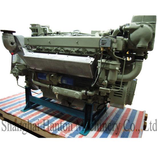 Deutz MWM TBD234-V12 Main Propulsion Marine Diesel Engine