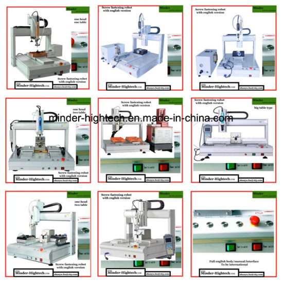 Full English Version CNC Screwer Robot MD-Dl-T4411 pictures & photos