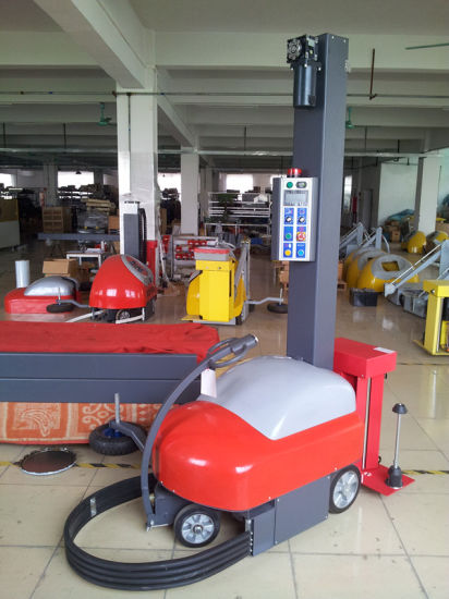New Condition Automatic Robot Pallet Wrapping Machine/Self-Propelled Wrapping Machine pictures & photos